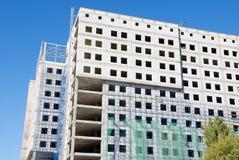 Costruzione dell'edificio per uffici immagine stock libera da diritti