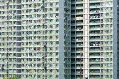 Costruzione dell'edilizia popolare in Hong Kong Fotografia Stock Libera da Diritti