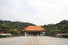 Costruzione dell'entrata del santuario rivoluzionario nazionale del ` dei martiri in Taiwan Immagine Stock
