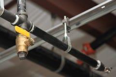 Costruzione dell'impianto idraulico Immagini Stock