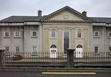 Costruzione dell'Irlandese Crystal Factory di Galway Fotografia Stock Libera da Diritti