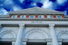 Costruzione dell'istituto universitario del campus universitario Immagini Stock Libere da Diritti