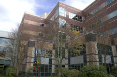 Costruzione dell'ospedale Fotografie Stock Libere da Diritti