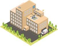 Costruzione dell'ospedale Royalty Illustrazione gratis