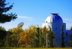 Costruzione dell'osservatorio fotografia stock