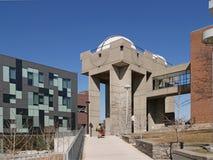 Costruzione dell'osservatorio di astronomia dell'università Immagini Stock