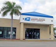Costruzione dell'ufficio postale Fotografia Stock