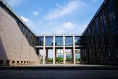 Costruzione dell'università Fotografia Stock