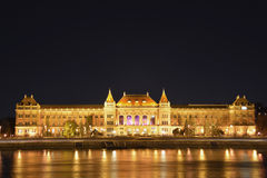 Costruzione dell'università di Budapest Immagini Stock