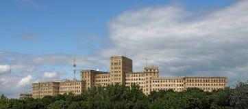 Costruzione dell'università di Kharkiv Fotografie Stock