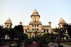 Costruzione dell'università di Lucknow, India Immagini Stock Libere da Diritti