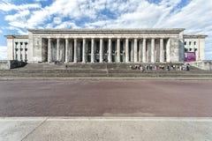 Costruzione dell'università, facoltà di legge, a Buenos Aires fotografia stock