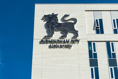 Costruzione dell'università di città di Birmingham Fotografia Stock