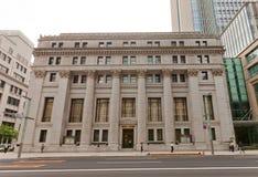 Costruzione della Banca e di fiducia di Mitsui a Tokyo, Giappone Fotografie Stock Libere da Diritti