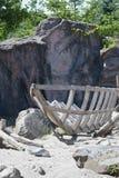 Costruzione della barca Fotografie Stock