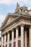 Costruzione della Borsa o di borsa valori a Bruxelles Immagine Stock