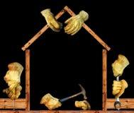 Costruzione della Camera Immagini Stock Libere da Diritti