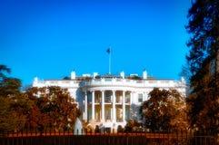 Costruzione della Casa Bianca Immagini Stock
