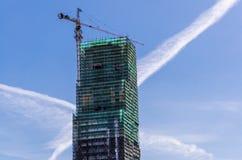 Costruzione della casa nuova Immagine Stock Libera da Diritti