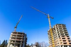 Costruzione della casa residenziale Immagine Stock