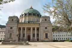 Costruzione della cattedrale fotografie stock libere da diritti