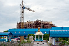 Costruzione della chiesa Fotografia Stock Libera da Diritti