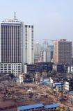Costruzione della città. Immagini Stock