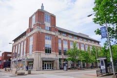 Costruzione della città universitaria di UIUC: libreria Fotografia Stock