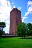 Costruzione della città universitaria di UM Immagine Stock