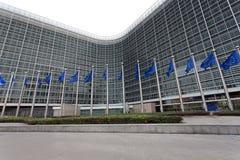 Costruzione della Commissione Europea Fotografia Stock