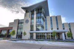 Costruzione della corte municipale a Oklahoma City Fotografie Stock Libere da Diritti