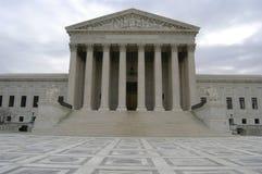 Costruzione della Corte suprema immagine stock