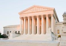 Costruzione della Corte suprema degli Stati Uniti Immagini Stock Libere da Diritti