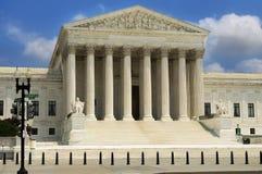Costruzione della Corte suprema, Washington Fotografie Stock Libere da Diritti