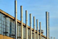 Costruzione della fabbrica del frammento Fotografia Stock Libera da Diritti