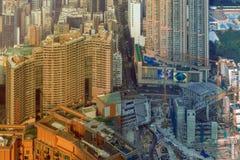 Costruzione della HK Immagini Stock
