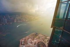 Costruzione della HK Immagine Stock