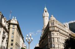 Costruzione della legislatura della città - Buenos Aires - Argentina immagine stock libera da diritti