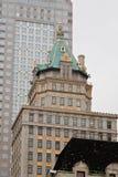 Costruzione della parte superiore a New York City Immagine Stock