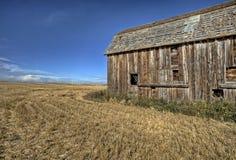 Costruzione della prateria dell'Alberta Fotografia Stock