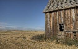 Costruzione della prateria dell'Alberta Fotografie Stock