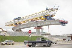 Costruzione della strada principale di Miami fotografia stock libera da diritti