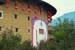 Costruzione della terra del Fujian Fotografia Stock Libera da Diritti