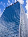 Costruzione della torre del grattacielo di Londra Fotografie Stock Libere da Diritti
