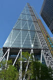 Costruzione della torre della via di 122 Leadenhall nella città di Londra, Regno Unito Immagine Stock Libera da Diritti