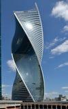 Costruzione della torre di evoluzione a Mosca, Russia Immagini Stock