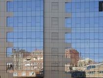Costruzione dello specchio Fotografia Stock