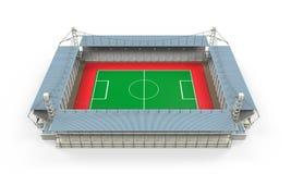 Costruzione dello stadio isolata Immagini Stock Libere da Diritti