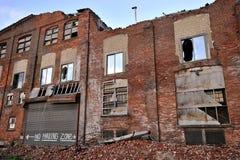 Costruzione demolita Immagine Stock
