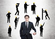 Costruzione di affari Fotografia Stock Libera da Diritti
